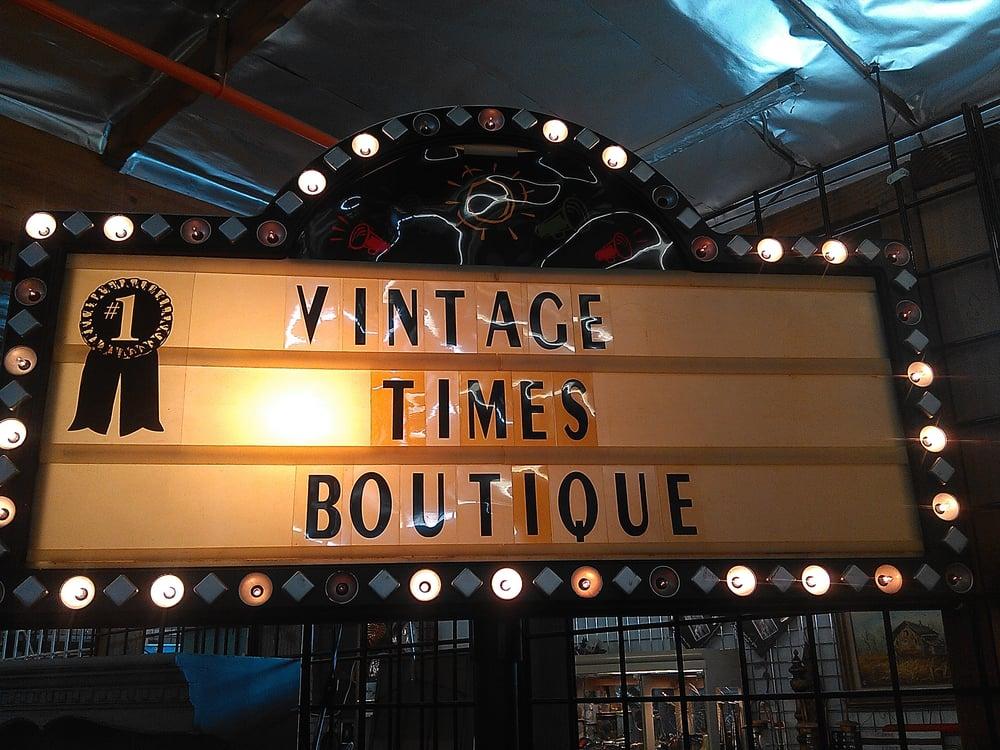Vintage Times Boutique: 614 Alabama St, Redlands, CA