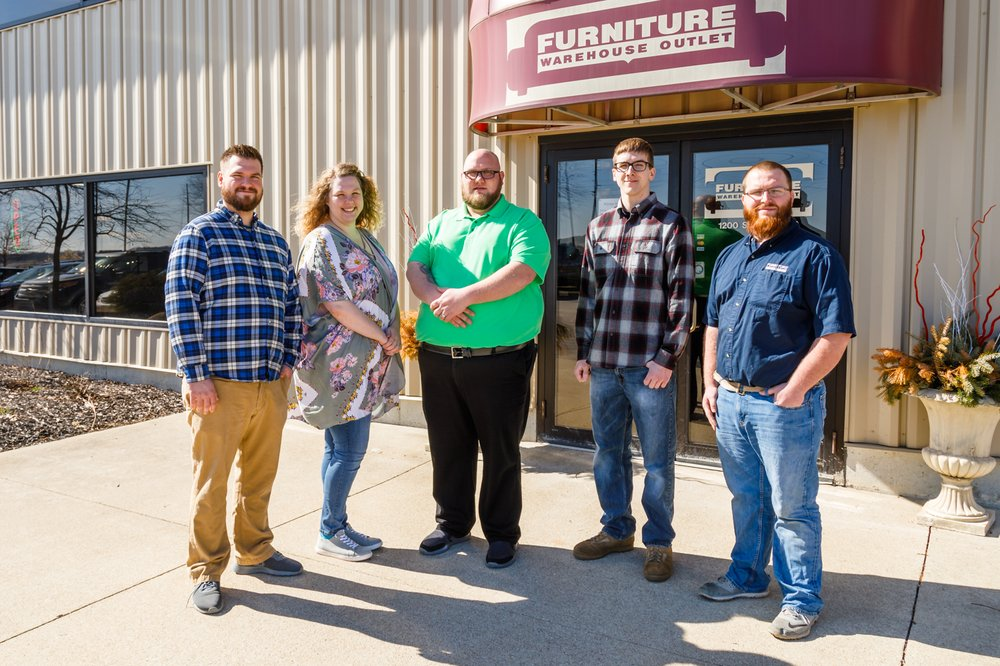Furniture Warehouse Outlet: 1200 S 6th St, Monticello, IN