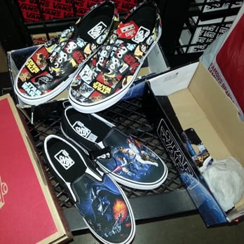 Photo of Vans Outlet - Folsom, CA, United States. Star Wars Vans.