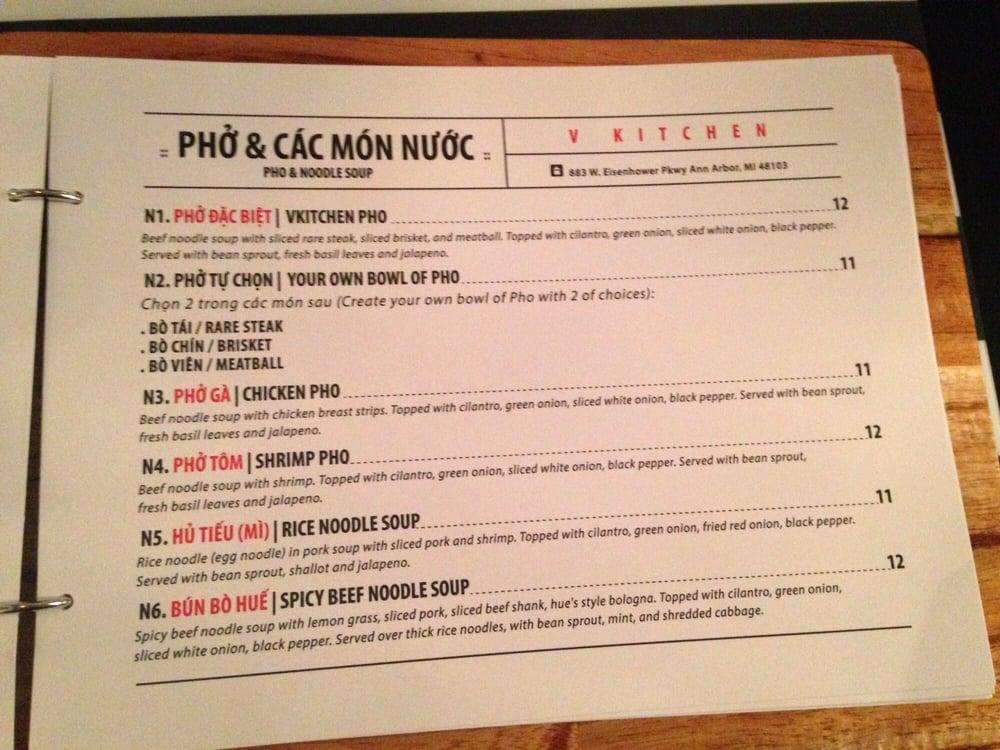 V Kitchen Ann Arbor Address Of V Kitchen Vietnamese Cuisine 75 Photos 57 Reviews