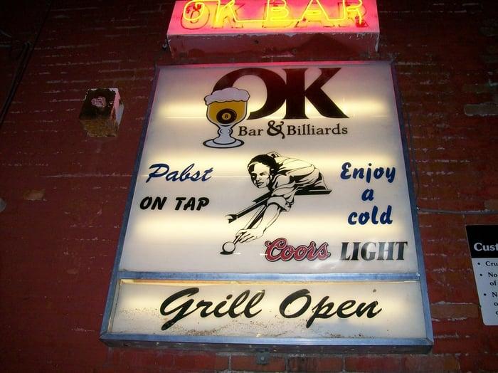 Social Spots from O K Bar & Billiards