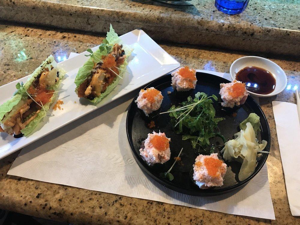 Food from Aomatsu Japanese Restaurant