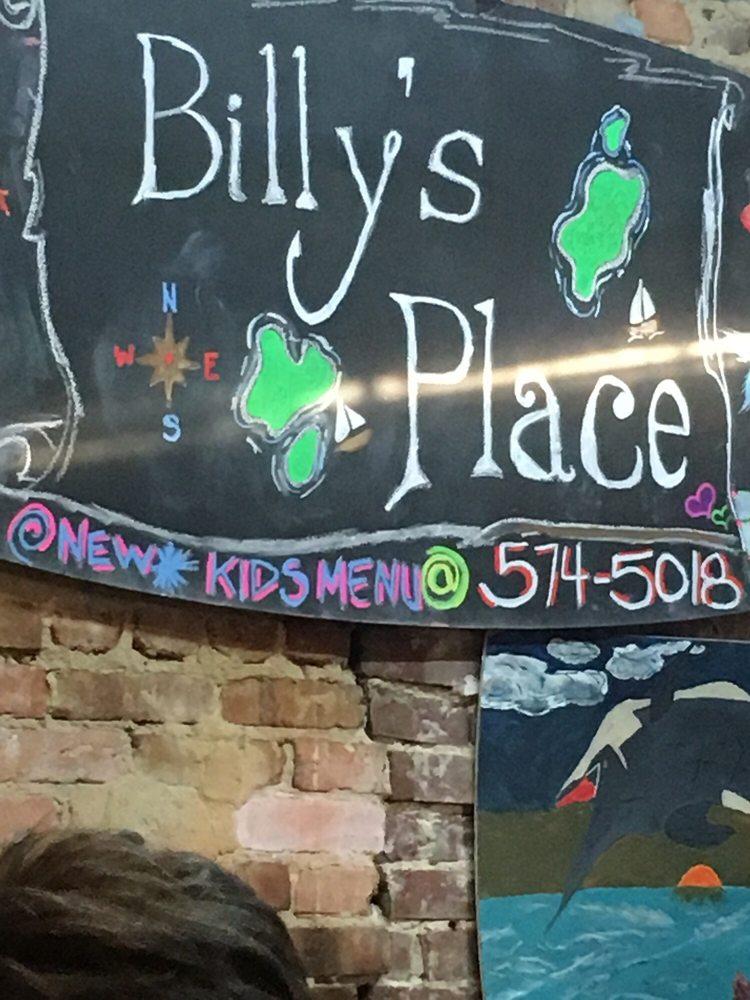 Billy's Place Seafood, Steak & More: 1022 E Railroad St, Ochlocknee, GA