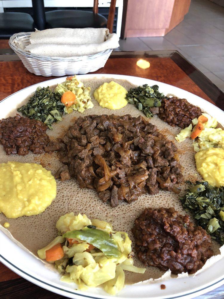 Melkam Ethiopian Restaurant: 3182 W Pico Blvd, Los Angeles, CA