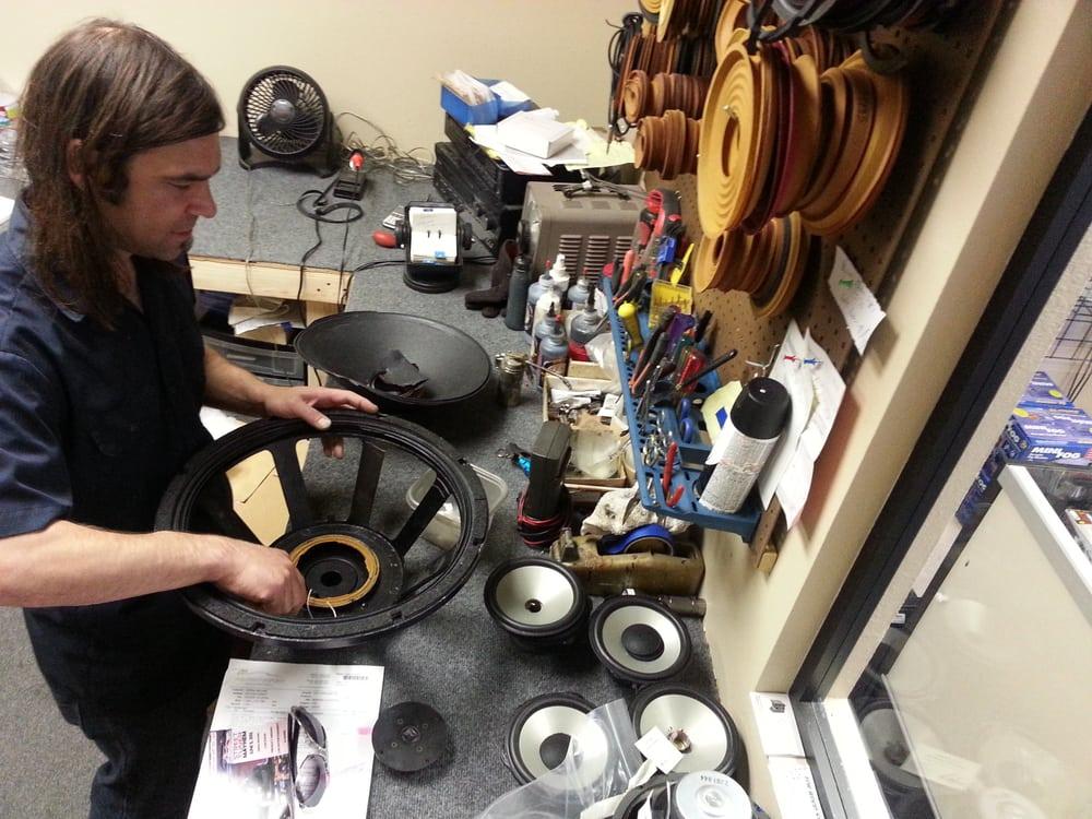 Speaker Repair & Reconing Center of Colorado: 4520 S Navajo St, Englewood, CO