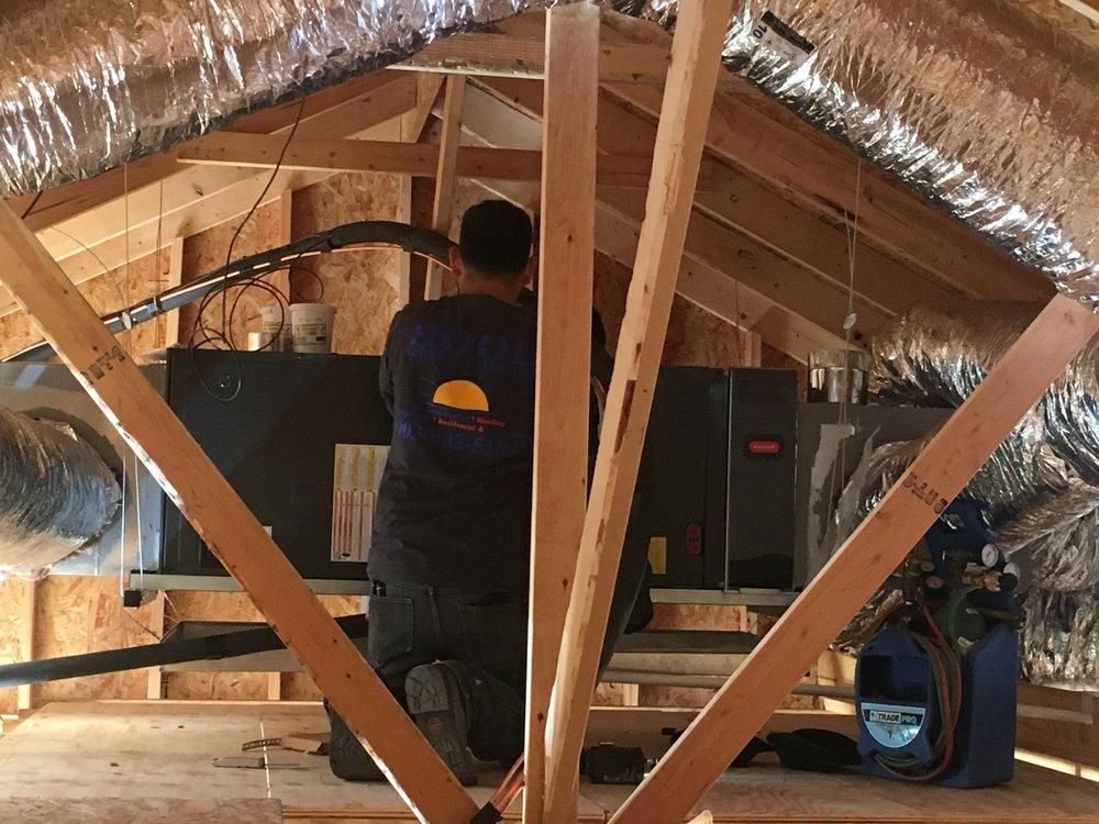 Hood Service Company Air Conditioning & Heating: 1217 Oak St, Corsicana, TX