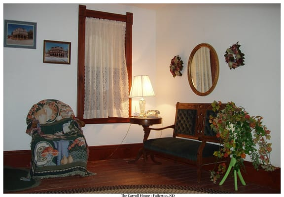 Photo Of Carroll House   Fullerton, ND, United States. Entry Area Of The