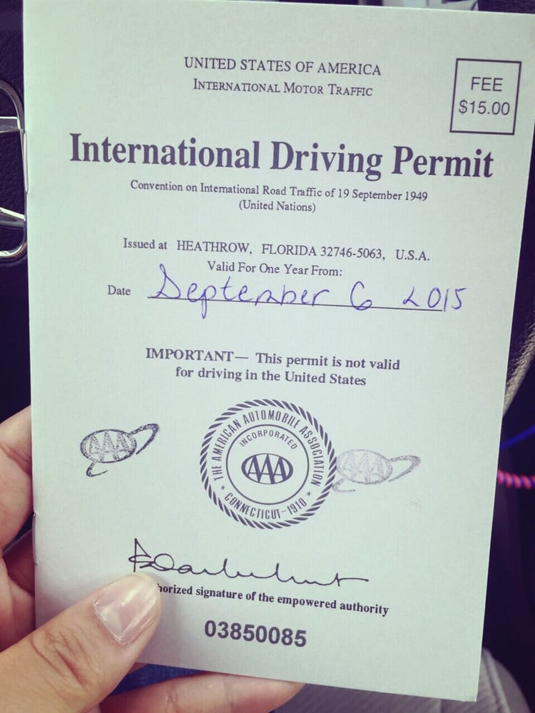 how to take international driving license