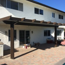 Photo Of Soltech Patio Covers   San Diego, CA, United States. Two Tone