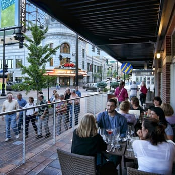 Outdoor Dining Is Available At Most Power Light District
