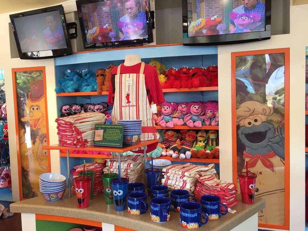 Sesame Street gift shop