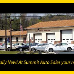 Summit Auto Sales >> Summit Auto Sales Used Car Dealers 209 Pottsville Minersville