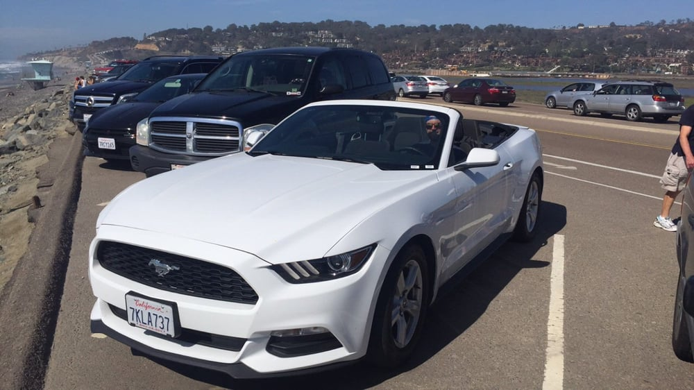 Mustang Convertible From Thrifty Car Rental In San Diego Ca Yelp