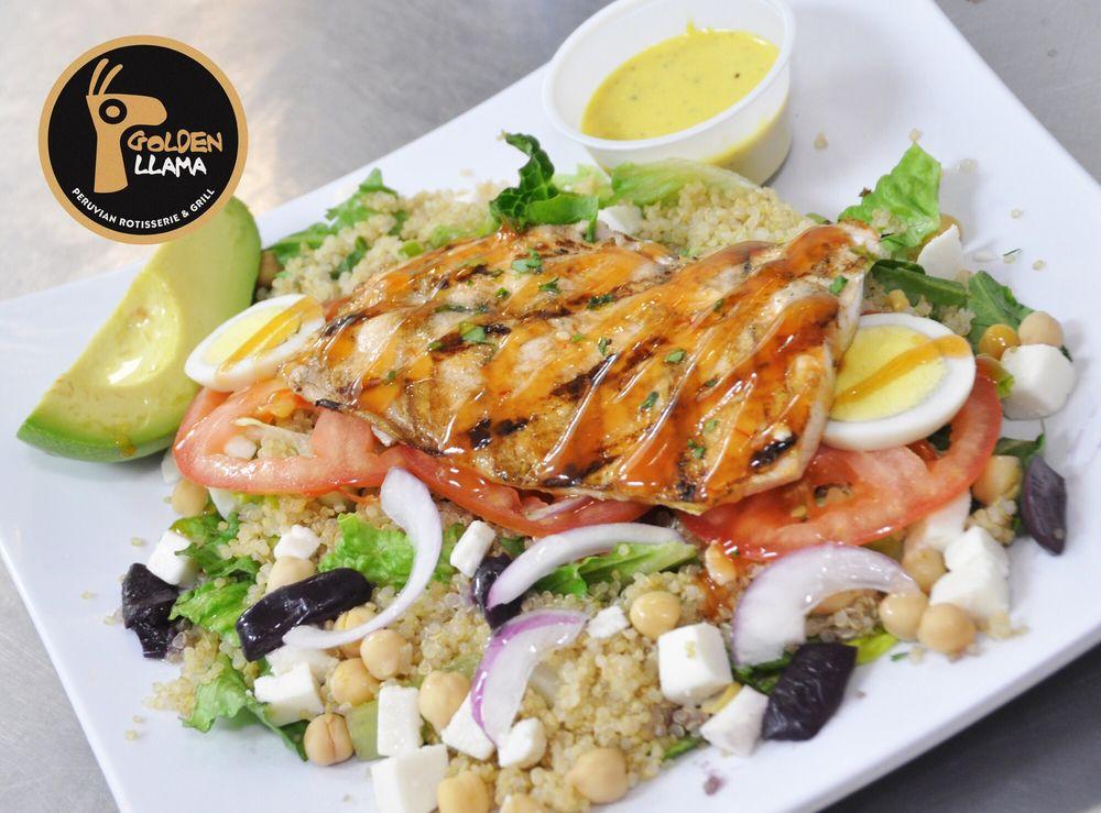 Golden Llama Peruvian Rotisserie and Grill: 2435 E North St, Greenville, SC