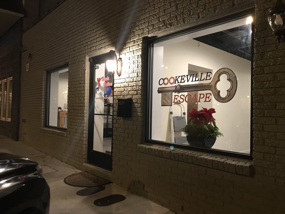 Cookeville Escape: 26 N Jefferson Ave, Cookeville, TN