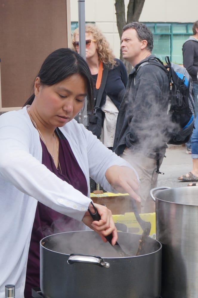 Salu-Salo Filipino Kitchen: Fremont Sunday Market, Seattle, WA