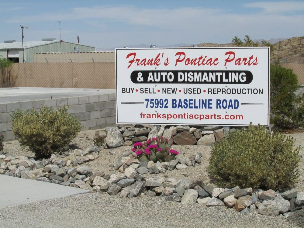 Franks Auto Salvage >> Franks Pontiac Parts - Auto Parts & Supplies - 75992
