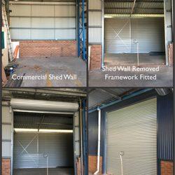 Photo of Perth Pro Garage Doors - Perth Western Australia Australia. Wall removed from & Perth Pro Garage Doors - Get Quote - 11 Photos - Garage Door ...