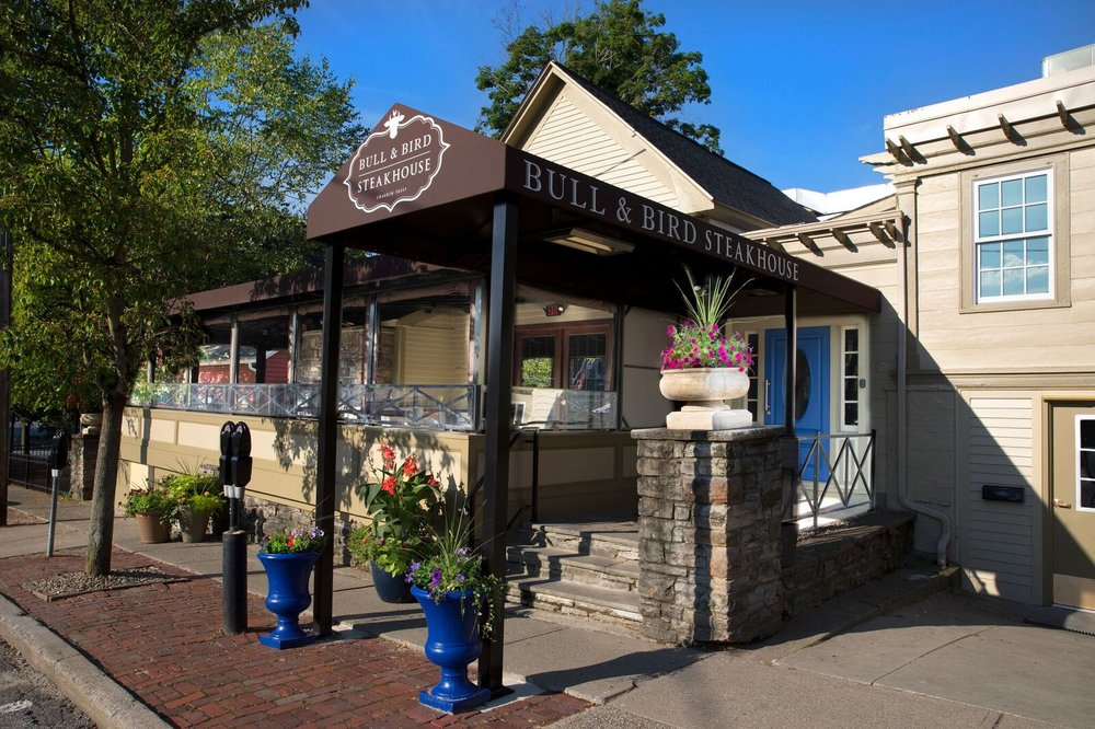 Bull & Bird Steakhouse: 87 West St, Chagrin Falls, OH