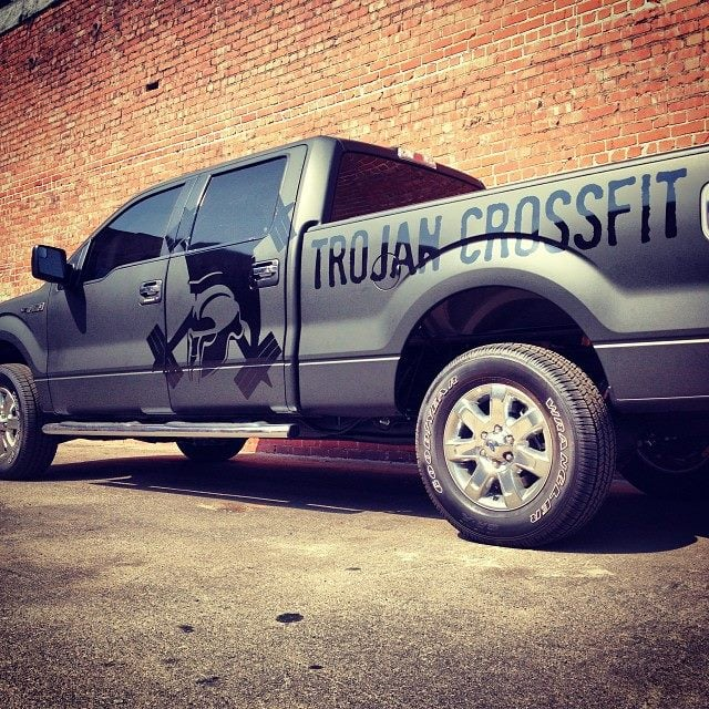 THANK YOU for the gorgeous work on our truck! Matte black ...