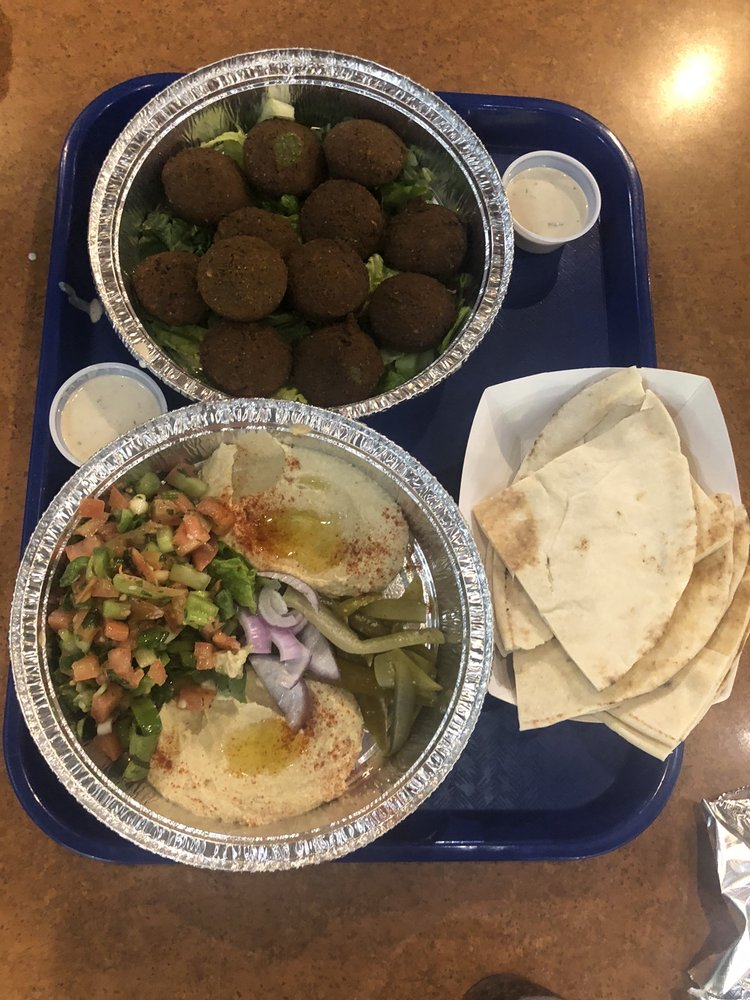 Food from Kababji Grill