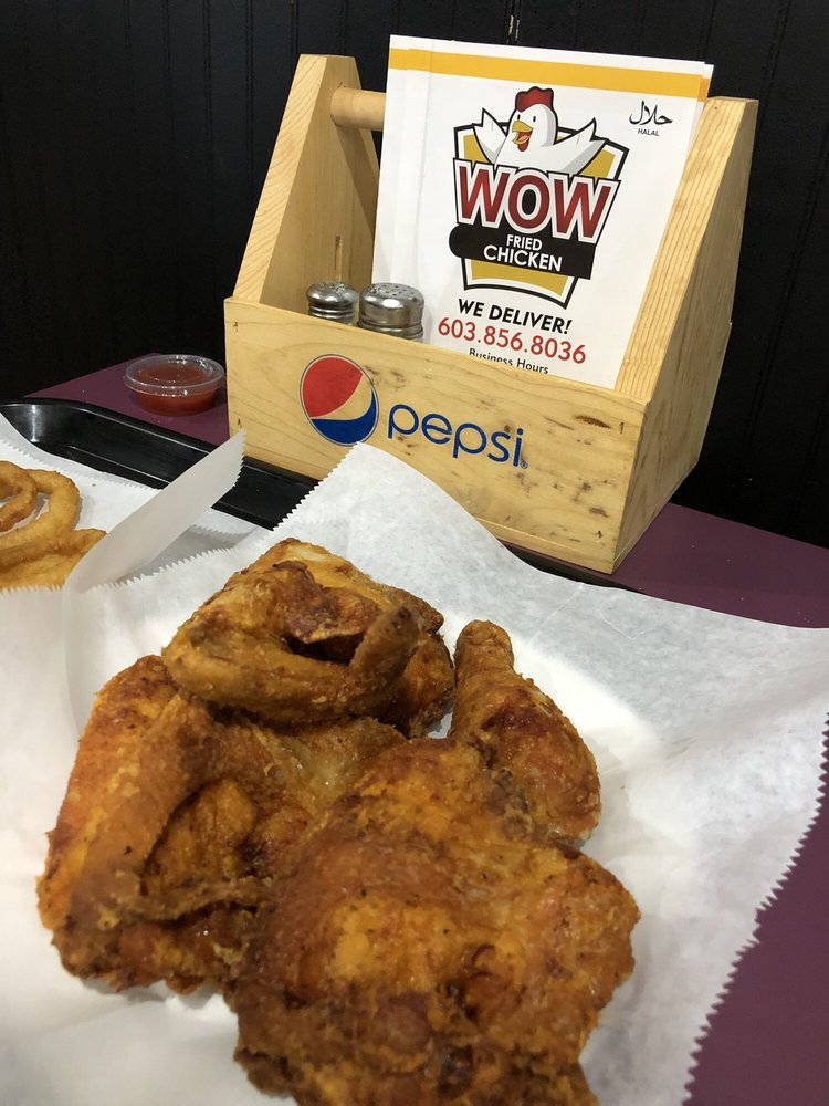 Food from Wow Fried Chicken