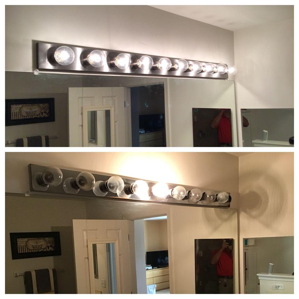 Bathroom Light Fixtures Chicago: Replace Light Bulbs In Bathroom Light Fixture