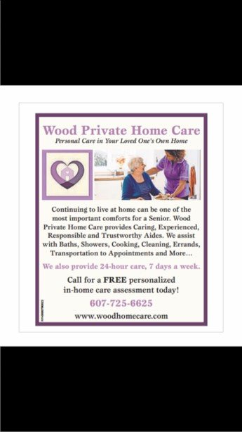 Wood Private Home Care: 99 Park Settlement Rd, Owego, NY