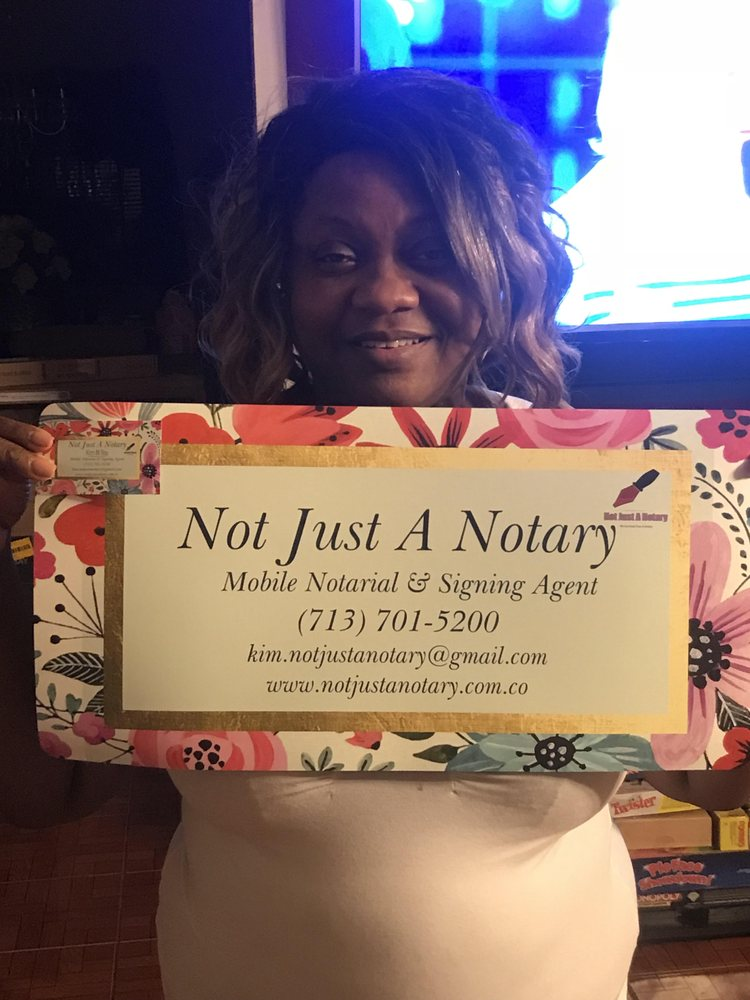 Not Just A Notary: Houston, TX