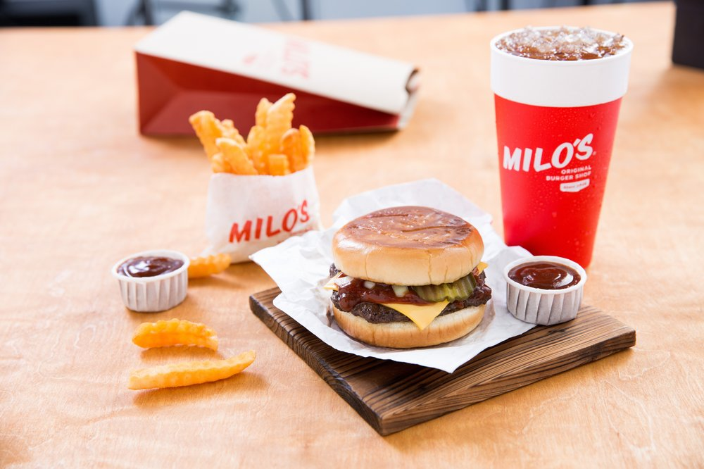 Milo's Hamburgers: 1120 Forestdale Blvd, Birmingham, AL