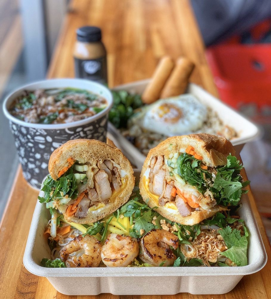 Food from Happy Endings Eatery