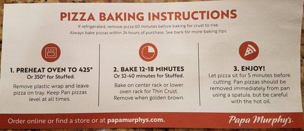 Papa Murphys 2406 Se 8th Ave Camas Wa Pizza Mapquest