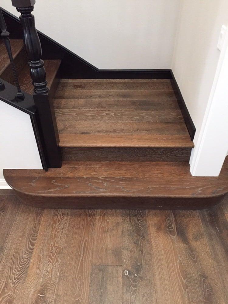 Provenza Pompeii Hardwood Flooring Custom Radius Tread Yelp