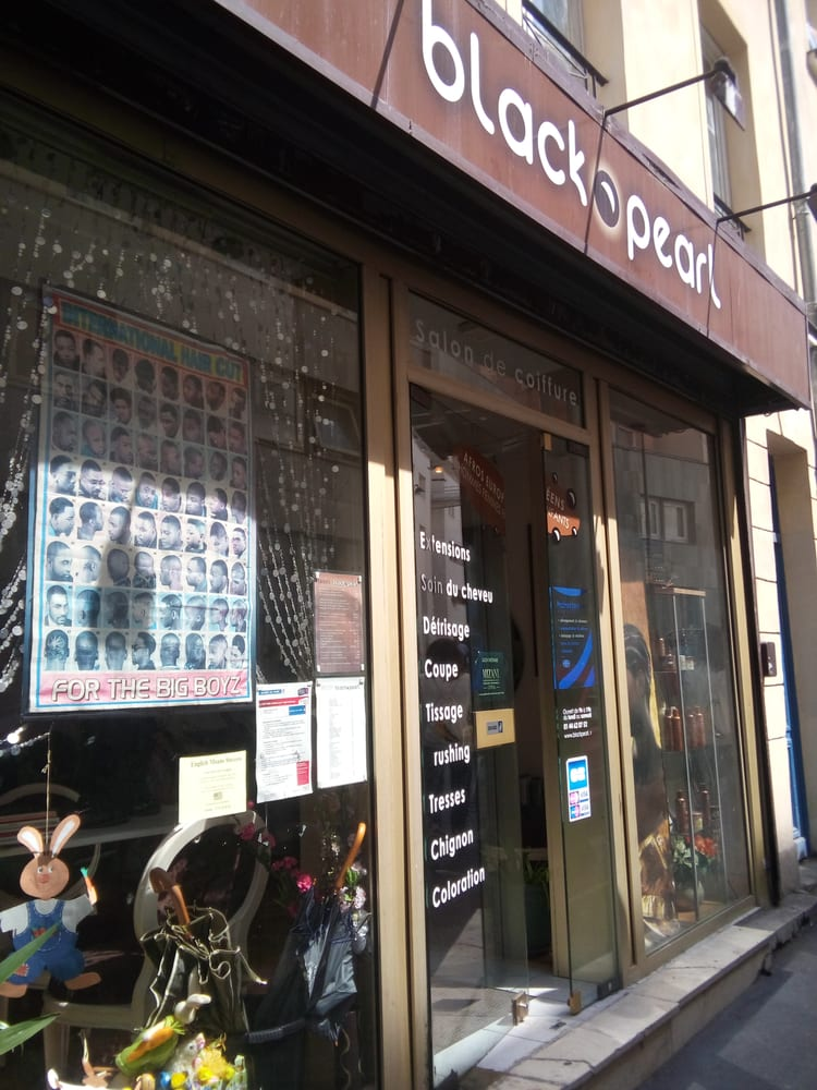 Black pearl hair salons 17 rue ramponeau colonel for Best hair salons in paris