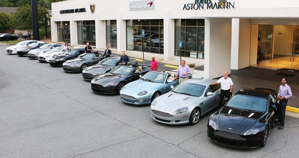 Aston Martin Atlanta Meet Greet September Yelp - Aston martin atlanta