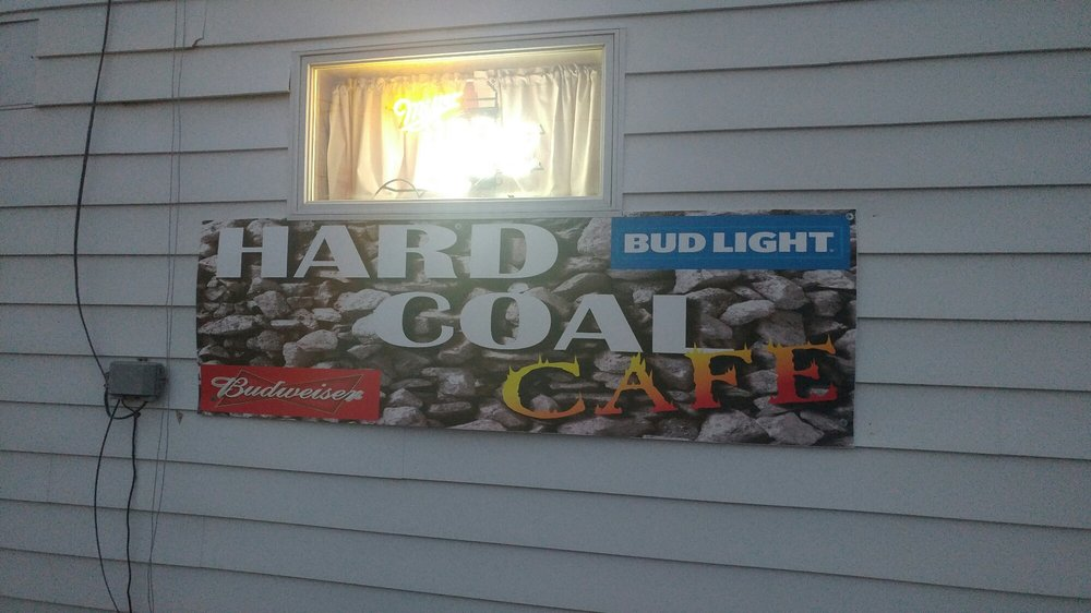 Hard Coal Cafe: 347 E Water St, Mount Carmel, PA