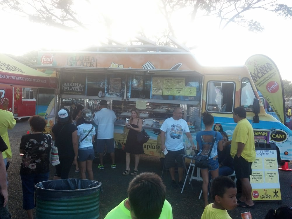 Food Truck Race Aloha Plate