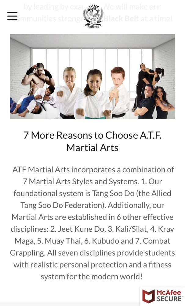 Social Spots from ATF Martial Arts