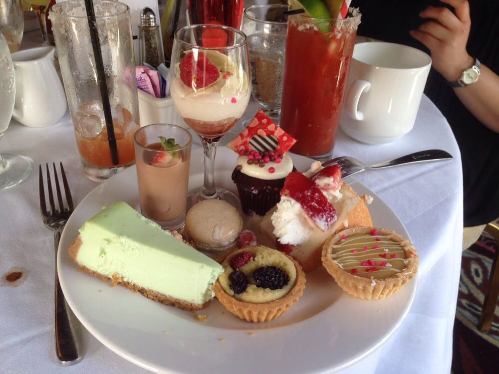 The Crown Room - Coronado, CA, United States. My dessert plate