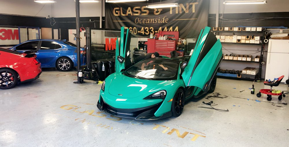 Auto Glass & Tint of Oceanside: 3588 Mission Ave, Oceanside, CA