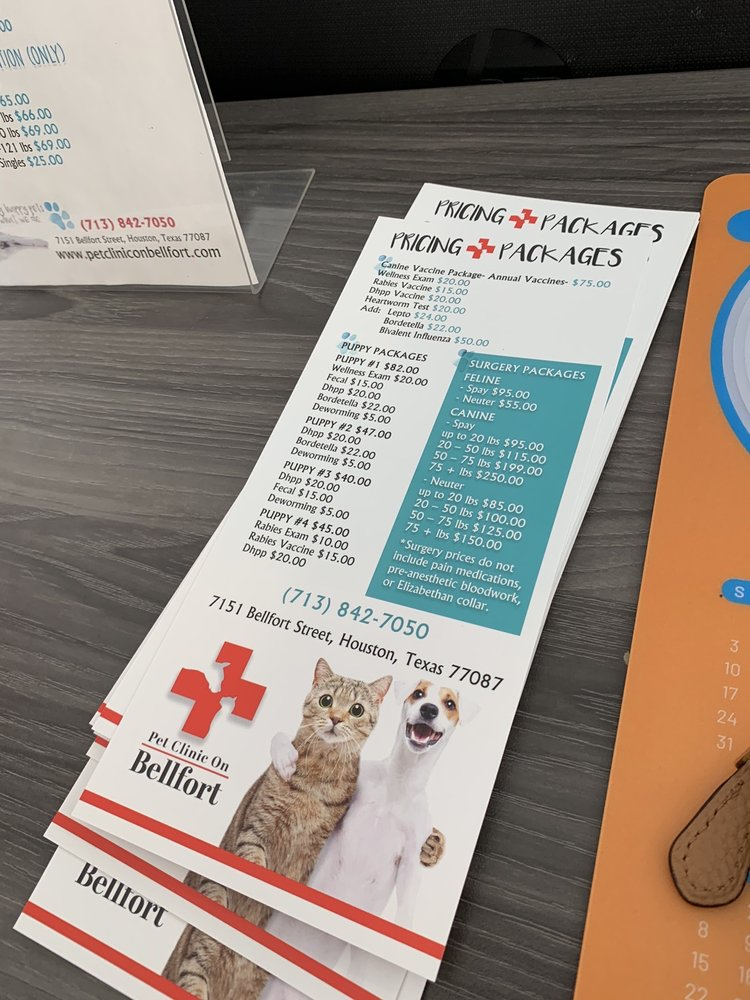 Pet Clinic On Bellfort: 7151 Bellfort St, Houston, TX