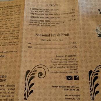 Cafe Au Lait Bradenton Fl