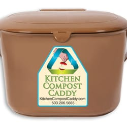 Photo Of Kitchen Compost Caddy   Portland, OR, United States. Kitchen  Compost Caddy