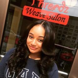 Black weave hair stylist near me