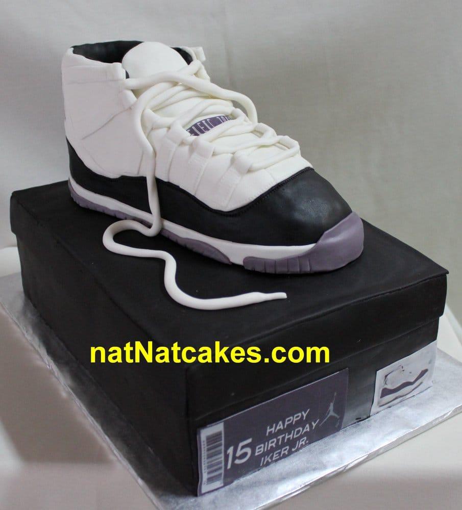 newest abc50 72d90 Photo of Nat Nat Cakes - Houston, TX, United States. jordan shoe cake