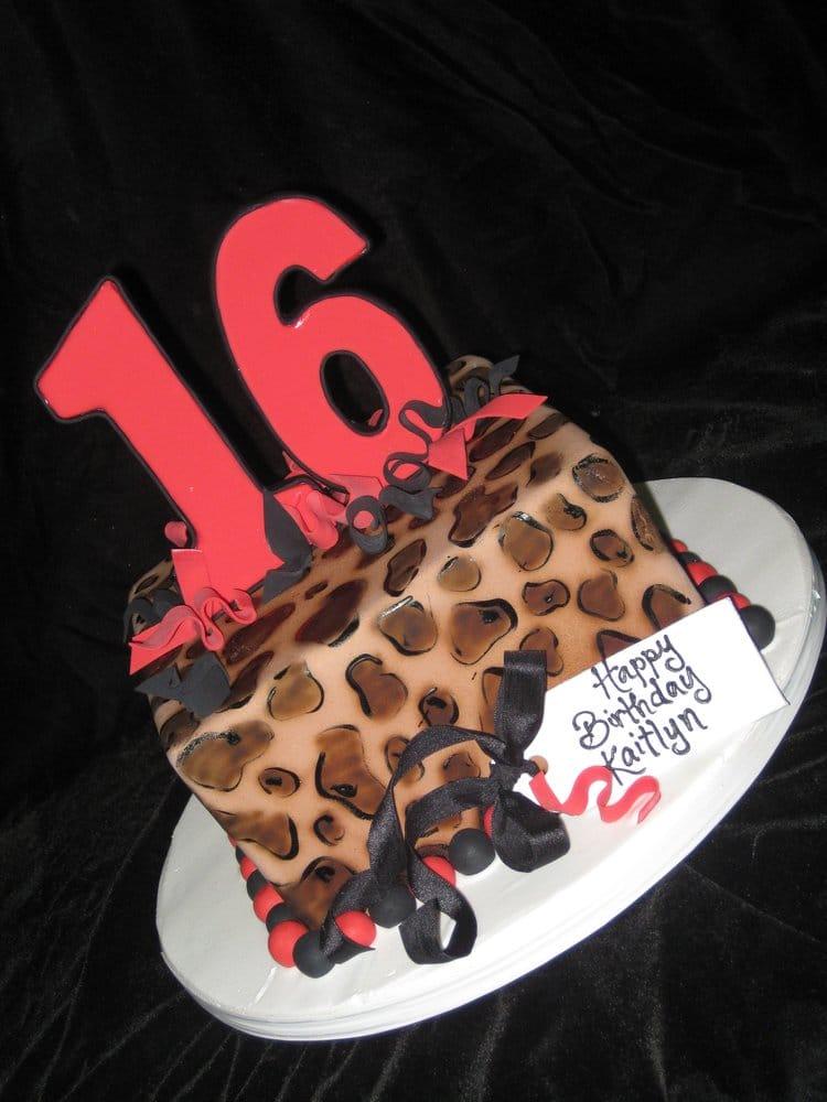 Cheetah Print Birthday Cake Yelp