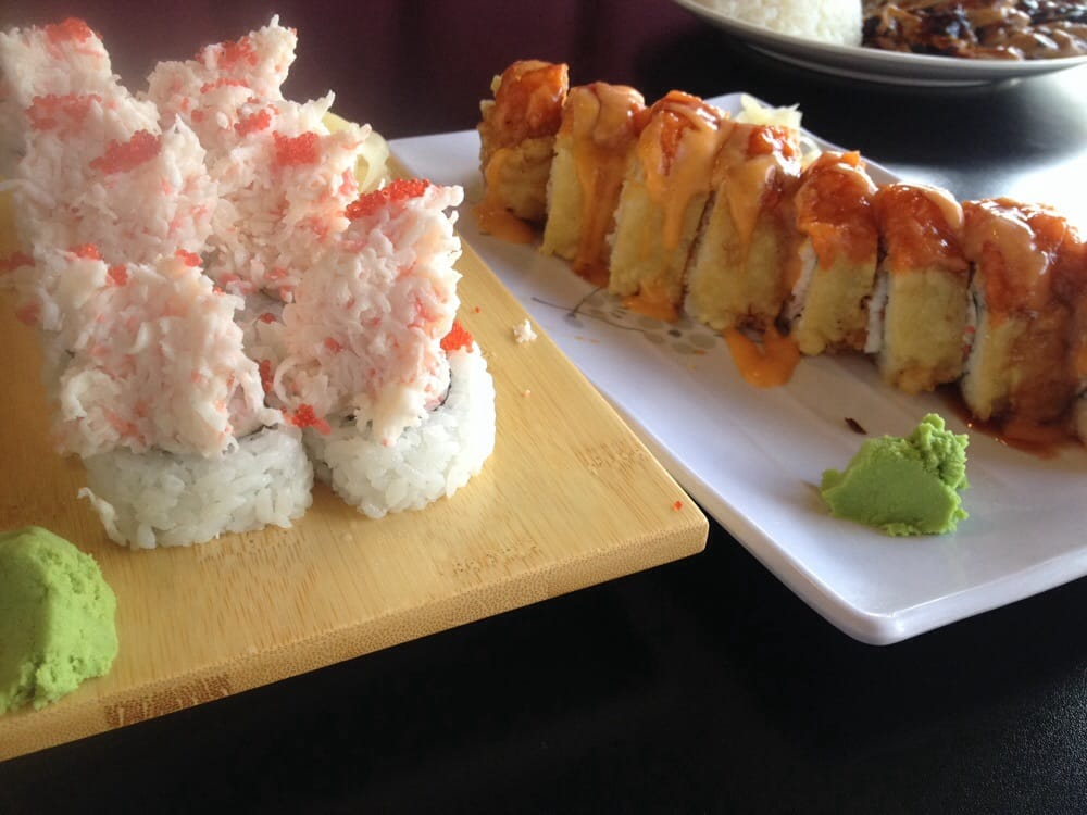 The mountain roll left san leandro right yelp for Fat fish san leandro