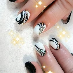 Photo Of Black Stiletto Nails San Antonio Tx United States Love My