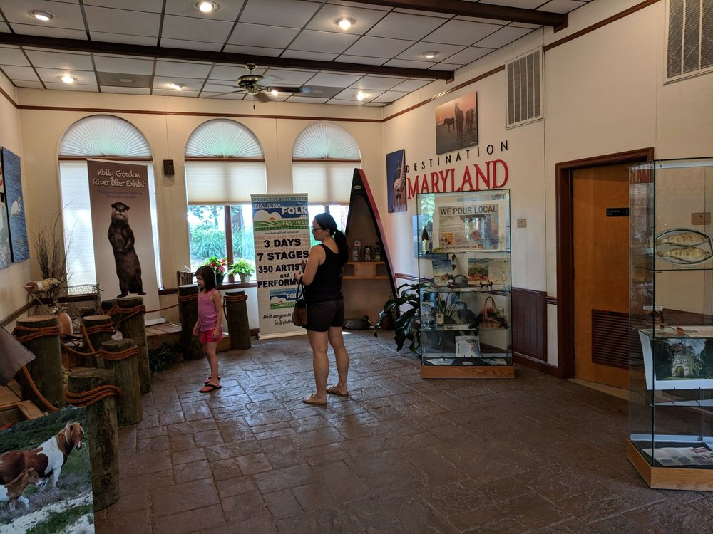 Maryland Welcome Centers: 144 Ocean Hwy, Pocomoke City, MD