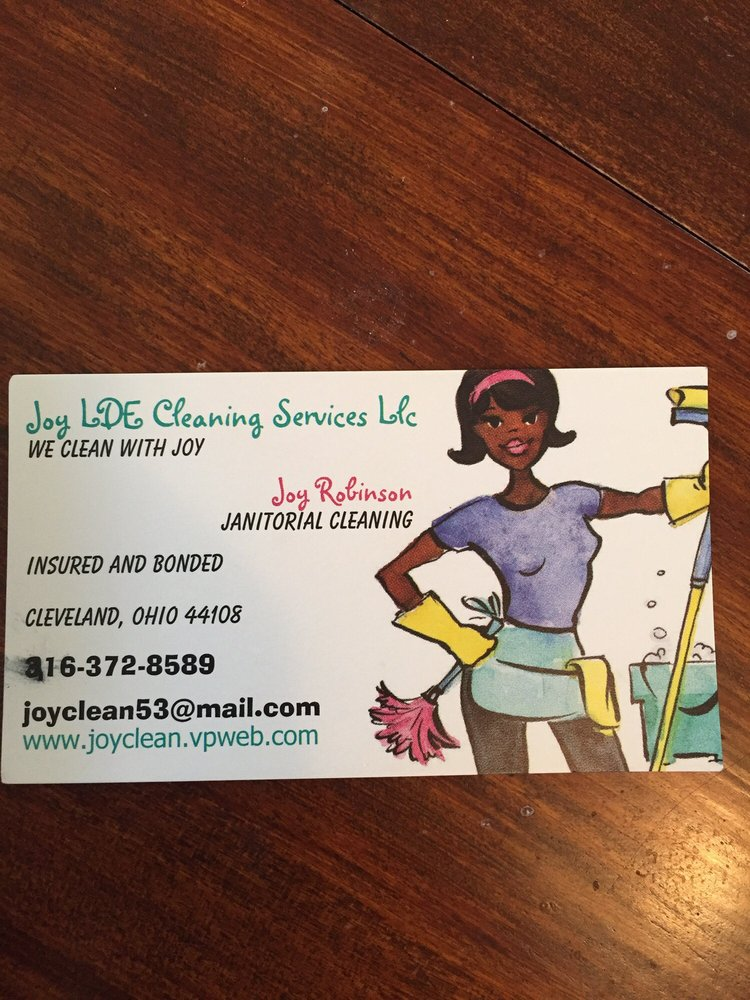 Joy LDE Cleaning Services